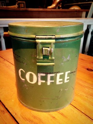画像1: Antique Can (Coffee)