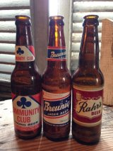 Antique Beer bottles set